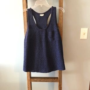 ***Fall Sale*** Navy blue tank with stars